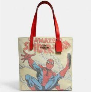Coach Marvel Spider-Man Tote